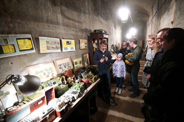 """Podziemne muzeum fortyfikacji """"Bunkier-703"""" - Sputnik Polska"""
