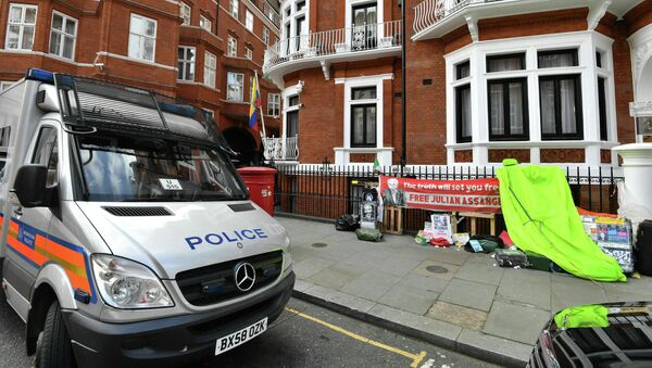Ambasada Ekwadoru w Londynie - Sputnik Polska