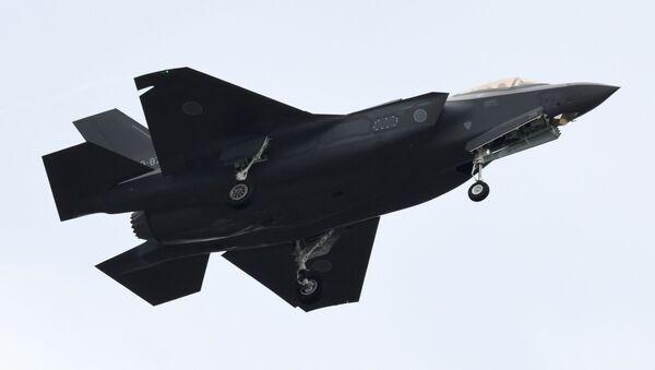 Myśliwiec F-35A Japońskich Powietrznych Sił Samoobrony - Sputnik Polska