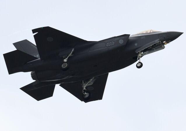 Myśliwiec F-35A Japońskich Powietrznych Sił Samoobrony