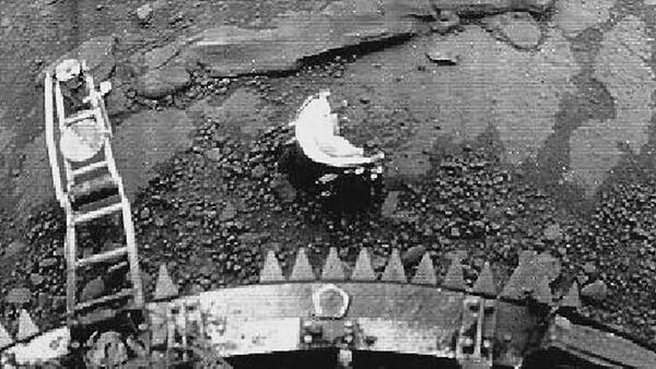 Panorama z modułu sondu Venera-13 - Sputnik Polska