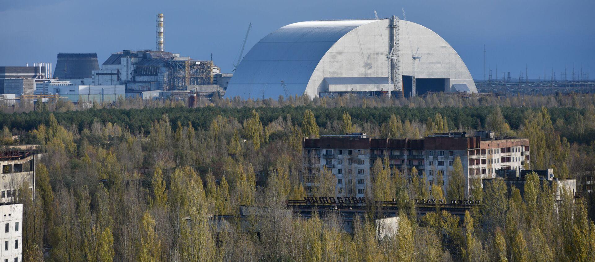 Elektrownia jądrowa w Czarnobylu - Sputnik Polska, 1920, 13.05.2021