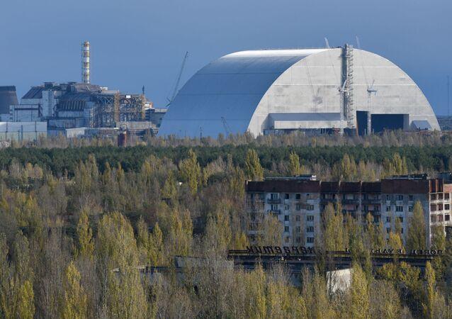 Elektrownia jądrowa w Czarnobylu.