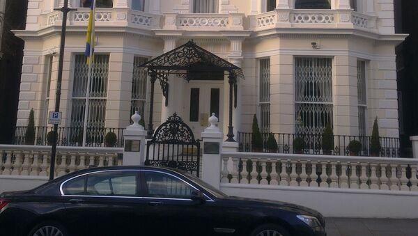 Ambasada Ukrainy w Londynie - Sputnik Polska