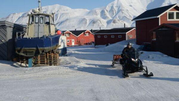 Centrum administracyjne archipelagu Spitsbergen miasto Longyearbyen - Sputnik Polska