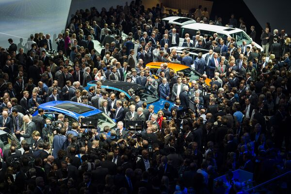 Volkswagen Group Night we Frankfurcie nad Menem - Sputnik Polska
