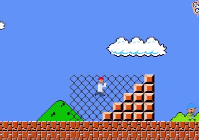 Teraz Super Mario jest uchodźcą