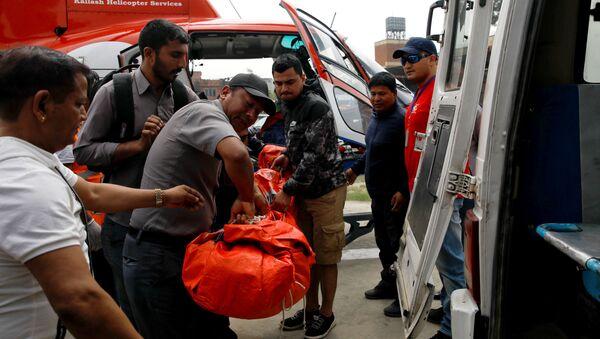 Wypadek na lotnisku Lukla w Nepalu - Sputnik Polska