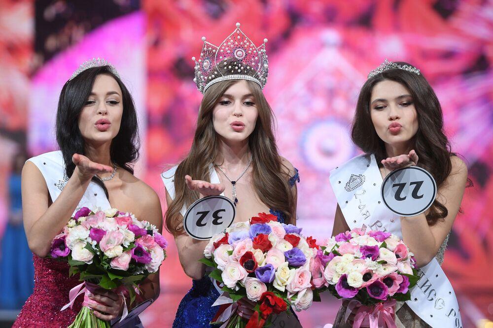 Finał konkursu Miss Rosji 2019.