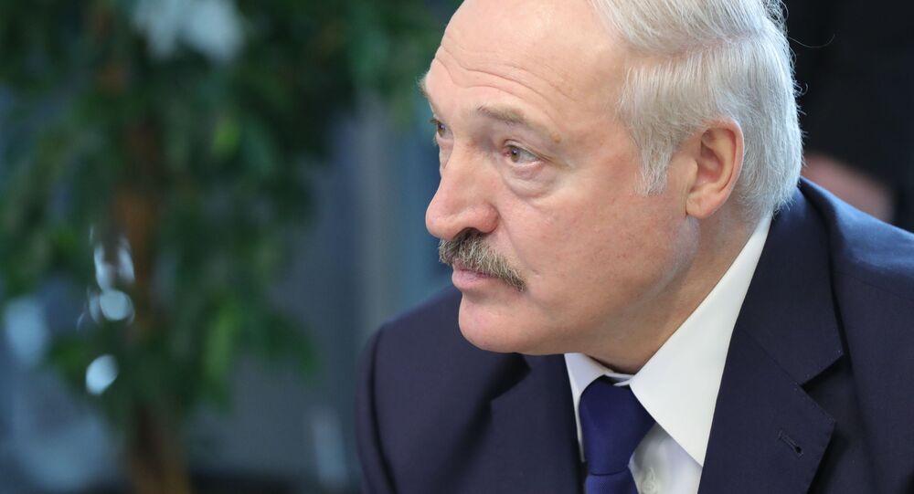 Prezydent Białorusi Aleksander Łukaszenko. Archiwalne zdjęcie