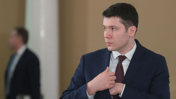 Gubernator obwodu kaliningradzkiego Anton Alikhanow - Sputnik Polska