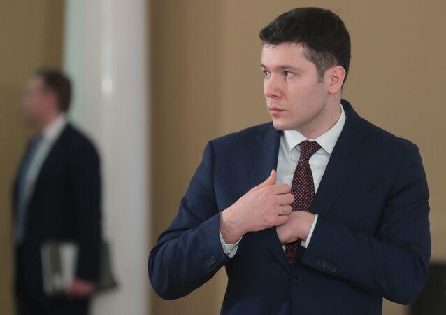 Gubernator obwodu kaliningradzkiego Anton Alikhanow
