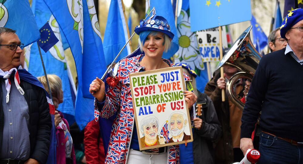 Protesty przeciwko Brexit