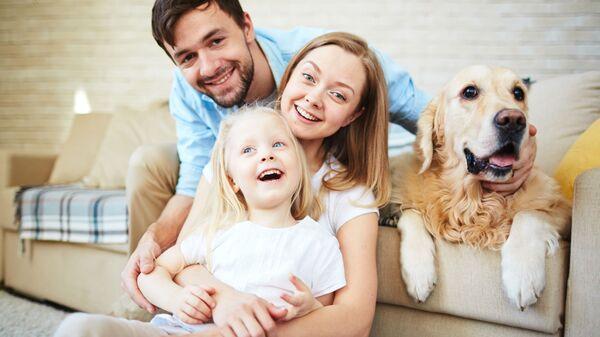 Szczęśliwa rodzina - Sputnik Polska