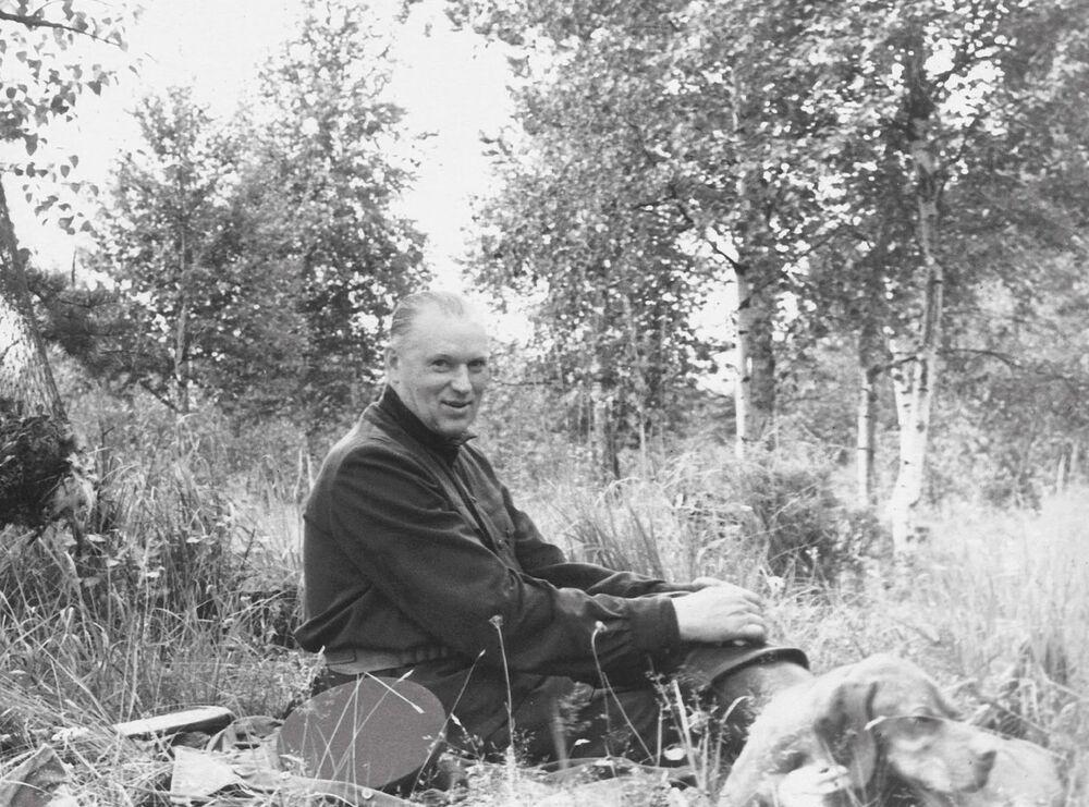 Konstantin Rokossowski na polowaniu