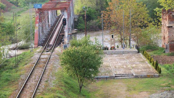 Zbombardowany przez NATO most pod Grdelicą - Sputnik Polska