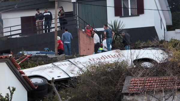 29 ofiar śmiertelnych. Wypadek samochodowy na Maderze - Sputnik Polska