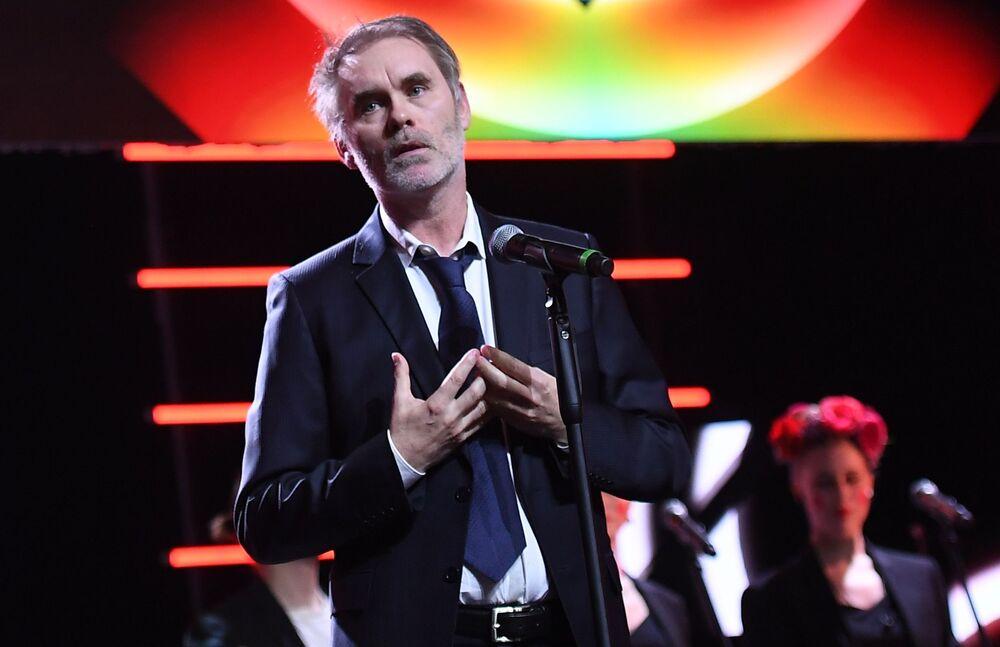 Francuski reżyser Jean-François Richet na otwarciu Moskiewskiego Międzynarodowego Festiwalu Filmowego