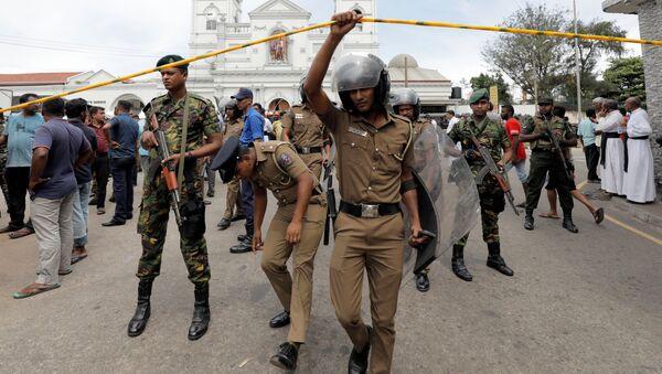 Seria eksplozji na Sri Lance - Sputnik Polska