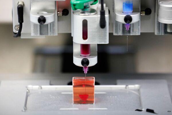 Izraelscy naukowcy stworzyli serce na drukarce 3D - Sputnik Polska