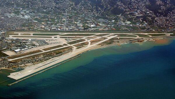 Widok na lotnisko w Bejrucie - Sputnik Polska
