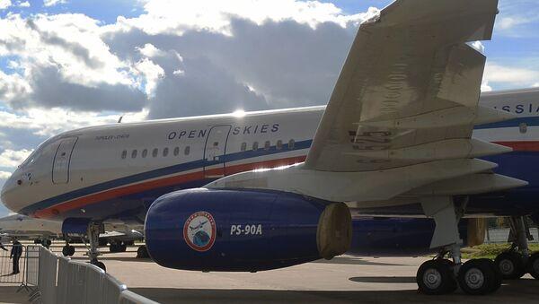 Samolot obserwacyjny Tu-214ON - Sputnik Polska