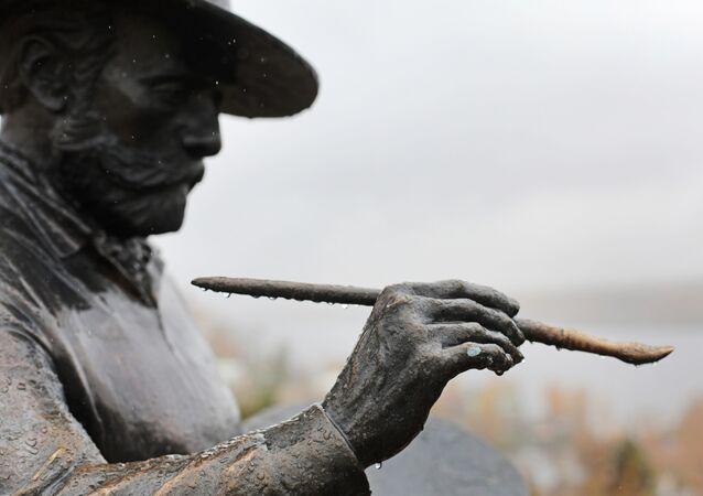 Rzeźba Izaaka Lewitana