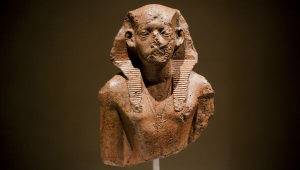 Faraon Amenemhet III - Sputnik Polska