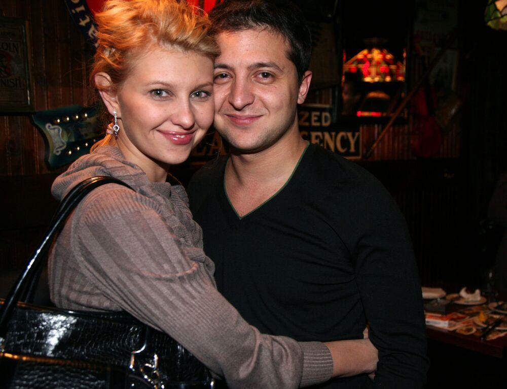 Wołodymyr i Ołena Zełenscy, 2009 rok