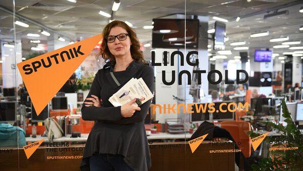 Koordynator stowarzyszenia KURSK w Rosji Anna Zacharian - Sputnik Polska