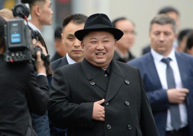 Kim Dzong Un przybył do Władywostoku