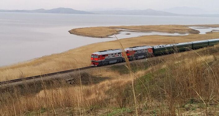 Pociąg pancerny Kim Dzong Una