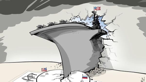 Sto tysięcy ton amerykańskiej dyplomacji - Sputnik Polska