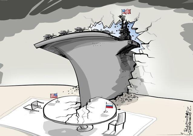 Sto tysięcy ton amerykańskiej dyplomacji