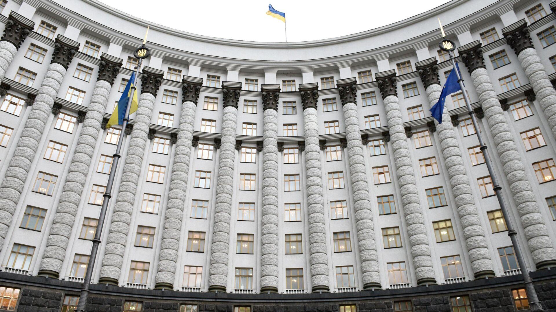 Gabinet ministrów Ukrainy, Kijów - Sputnik Polska, 1920, 04.08.2021