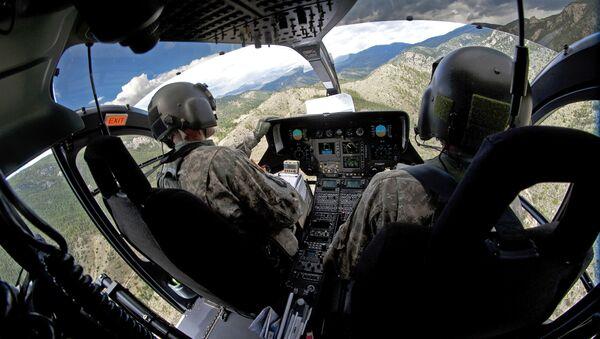 Piloci amerykańskich sił powietrznych. Zdjęcie archiwalne - Sputnik Polska
