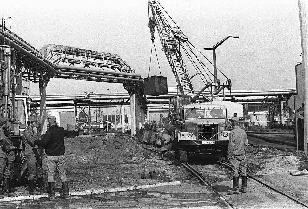 Likwidacja skutków katastrofy Czarnobylskiej Elektrowni Jądrowej