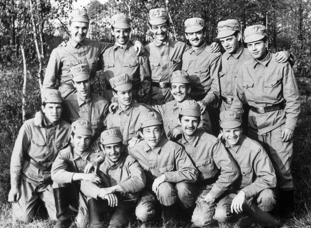 Grupa pod kierownictwem kapitana W. Bobrowa, która przeprowadzała rozpoznanie na terytorium Czarnobylskiej Elektrowni Jądrowej