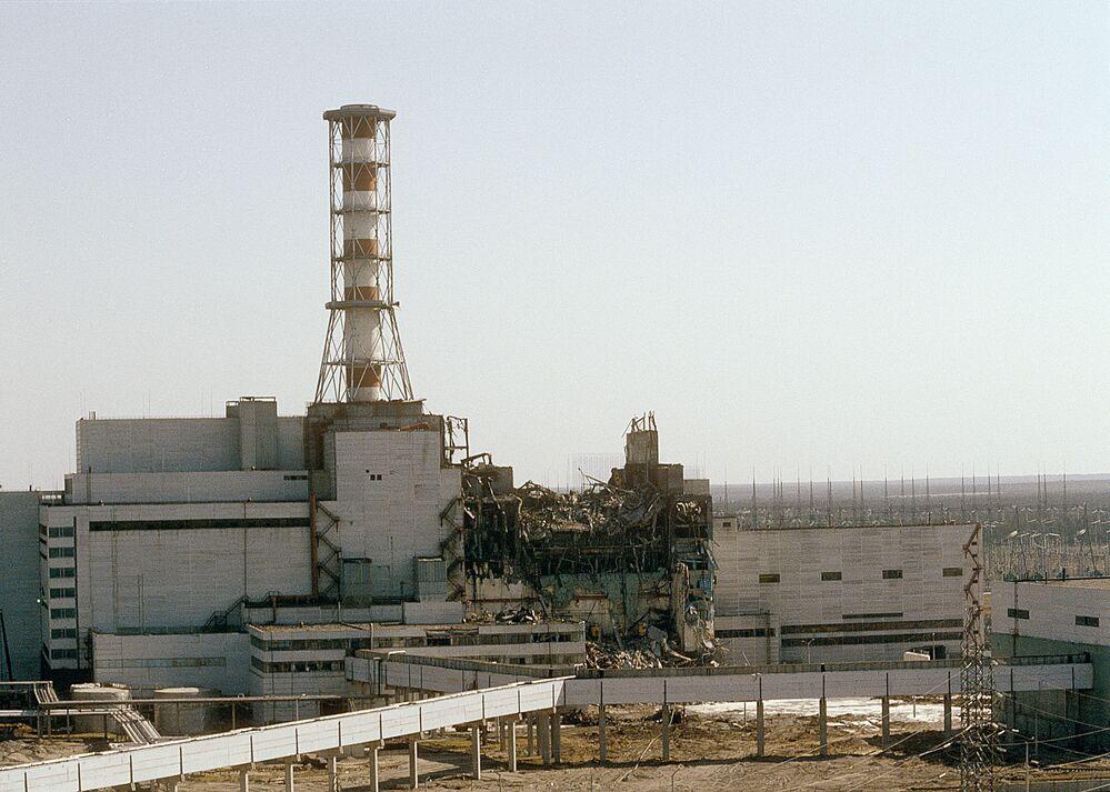 Czarnobylska Elektrownia Jądrowa, 1986 rok