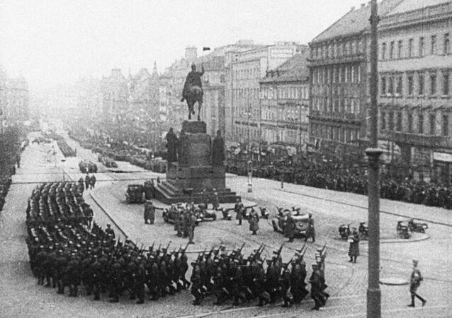 Wojsko Hitlera w Pradze w 1939 roku