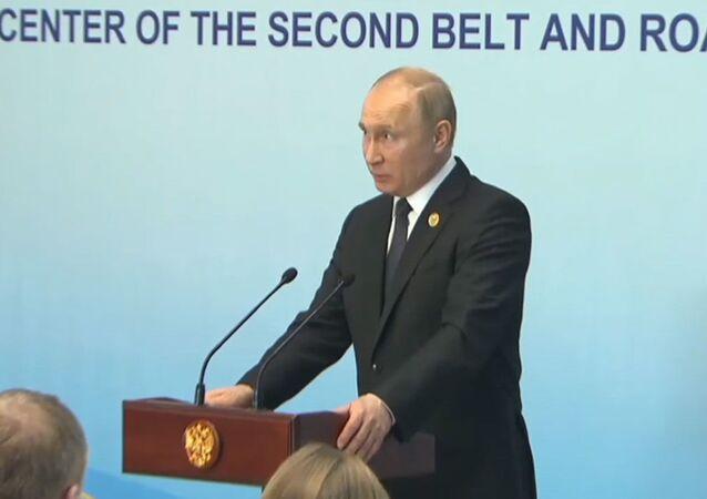 Putin o obywatelstwie dla Ukraińców.