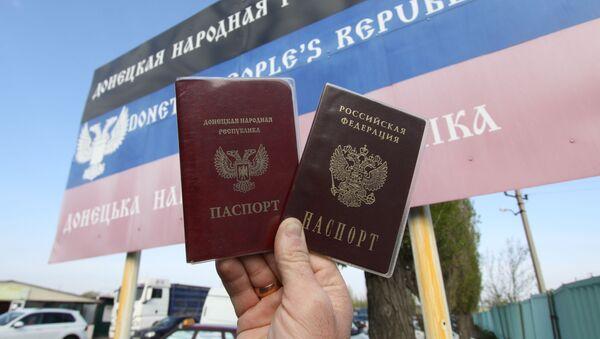 Paszporty obywateli DRL i FR - Sputnik Polska