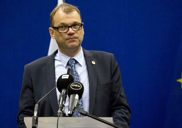 Premier Finlandii Juha Sipilä
