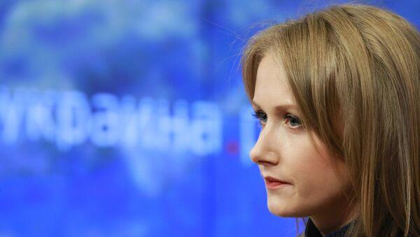 Szefowa portalu internetowego ukraina.ru Alona Bieriezowska - Sputnik Polska