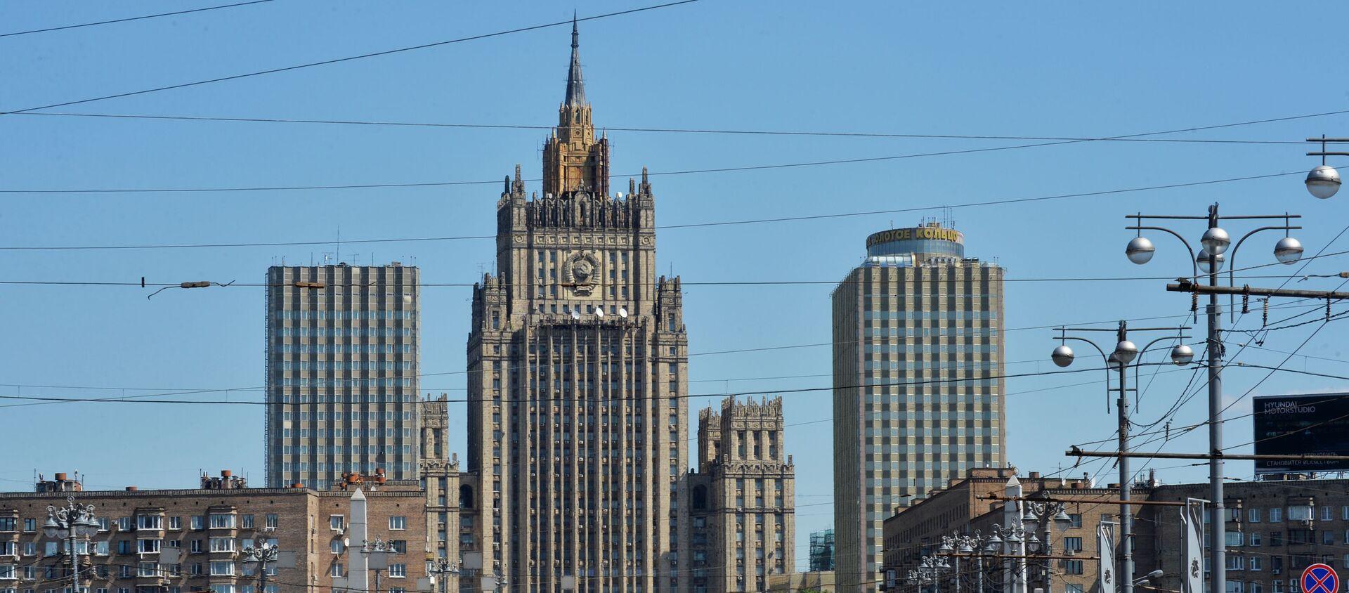 Budynek Ministerstwa Spraw Zagranicznych Rosji - Sputnik Polska, 1920, 08.04.2021