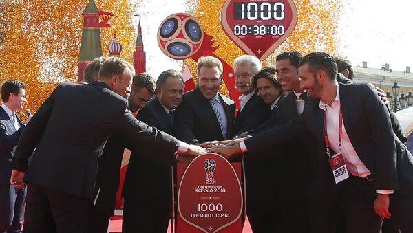 """Projekt """"1000 dni do Mistrzostw Świata w Piłce Nożnej 2018 w Rosji"""" - Sputnik Polska"""