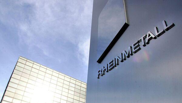 Rheinmetall-Zentrale w Düsseldorfie - Sputnik Polska
