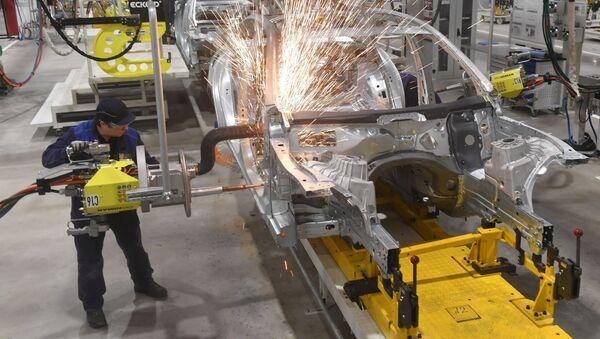 Fabryka spółki Mercedes-Benz w Moskwie - Sputnik Polska