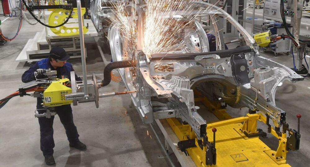 Fabryka spółki Mercedes-Benz