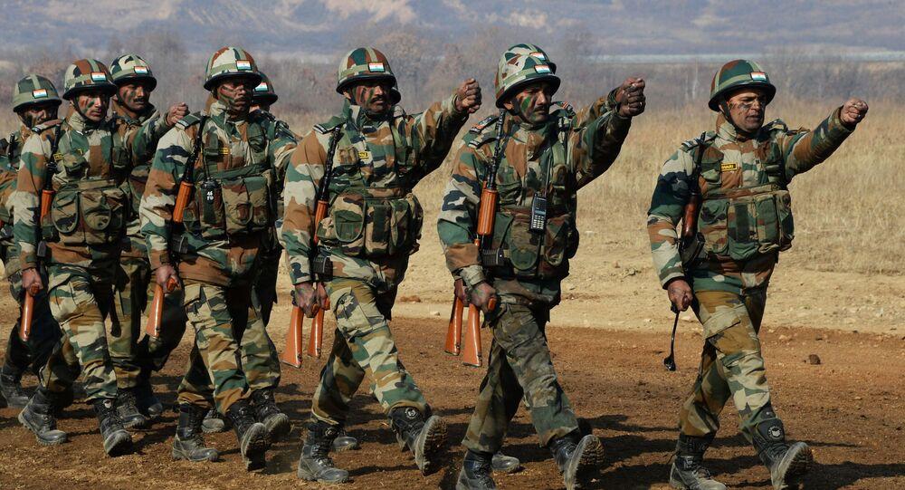 Żołnierze z Indii